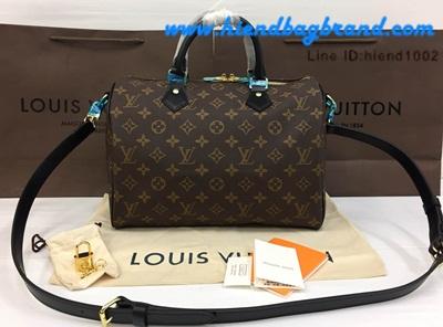 กระเป๋าแบรนด์New Louis Vuitton Speedy 25 CM Monogram Canvas